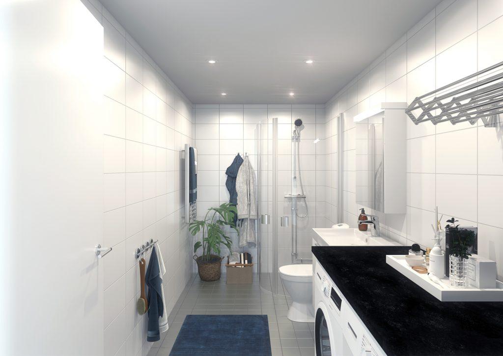 Brf Makrillen - badrum