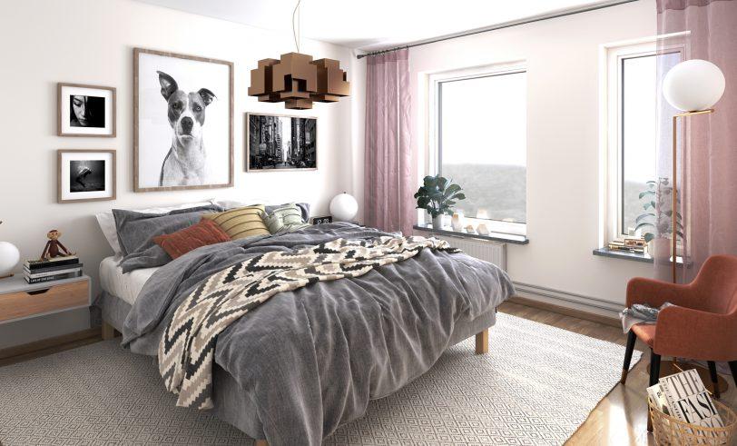 Brf Makrillen - sovrum
