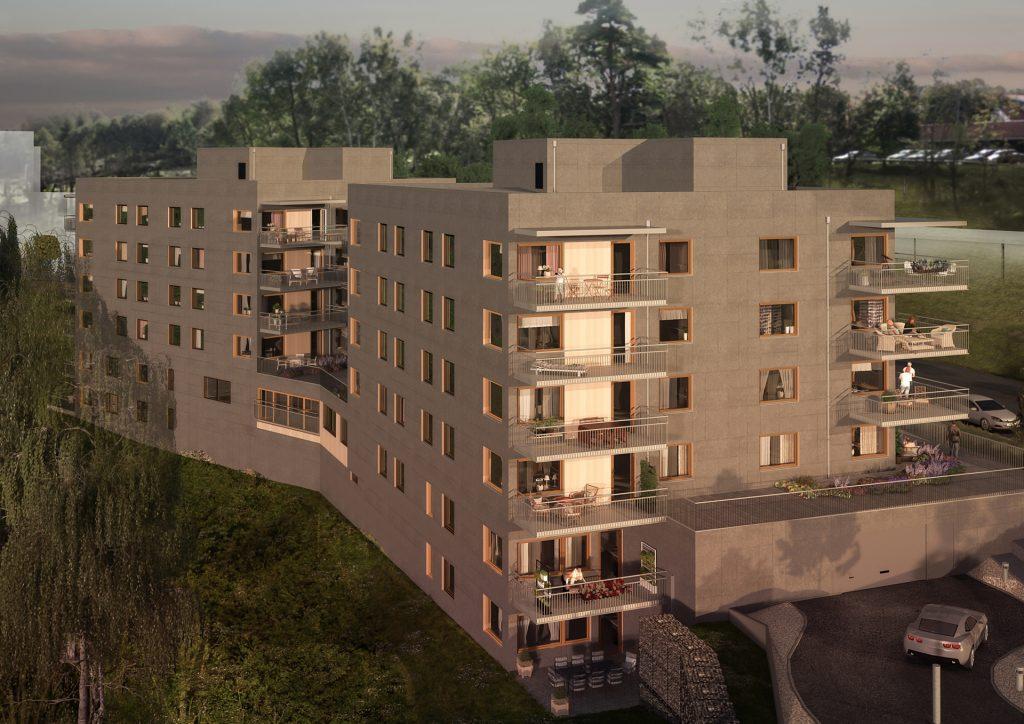 Brf Sisjöhöjd - Fasad (1)