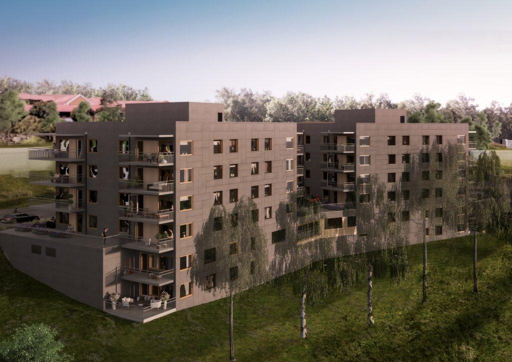 Brf Sisjöhöjd - Fasad (3)