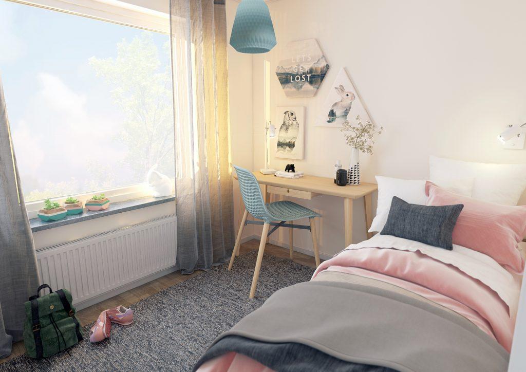 Brf Sisjöhöjd - Sovrum 3 rok